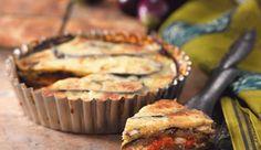 I Dream of Auberginie, Tomato and Mozzarella Bake Nando's Recipes, Veggie Recipes, Pasta Recipes, Italian Recipes, Vegetarian Recipes, Veggie Meals, Delicious Breakfast Recipes, Yummy Food, Savory Tart