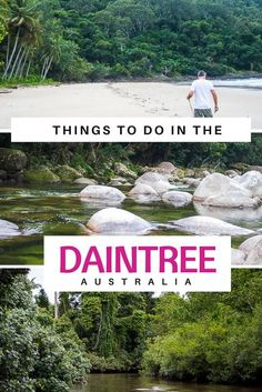 A visit to the Daintree is must whilst in Far North QLD - find out the best things to do in the Daintree whether you DIY or join one of the Daintree Tours.  Things to do in the Daintree | Things to do in Cairns | Cairns with Kids | Mossman Gorge | Cape Tribulation