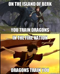 How to Train Your Dragon / Avatar: The Last Airbender