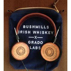 Bushmills-x-Grado-headphones-4 - Brosome