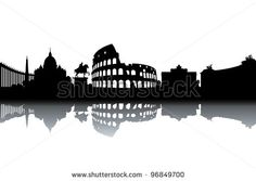 Find Rome Skyline stock images in HD and millions of other royalty-free stock photos, illustrations and vectors in the Shutterstock collection. Thousands of new, high-quality pictures added every day. Skyline Silhouette, Thousand Islands, Silhouette Images, Painting Inspiration, Royalty Free Stock Photos, Black And White, Drawings, Illustration, Pictures