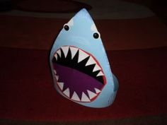 Shark Mask Craft | How to make shark cap | CRAFTS IDEAS FOR KIDS