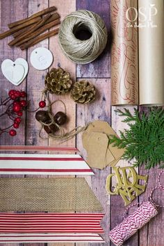 Christmas Gift Wrapping Ideas | kraft paper, twine and ribbon | diy inspiration