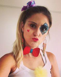 Inspiração para o Carnaval - Make Palhaça