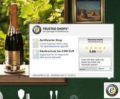 silberaeffchen.de ist jetzt offiziell zertifiziert von Trusted Shops! Wir freuen uns auf Ihre Bewertungen!
