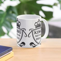 King Never Dies ! - Get yourself a funny custom desing from RIVEofficial Redbubble shop : )) .... tags: #king  #kingneverdies  #royalty #power #coatofarms # funny #humour #giftideas #crown #powerful #kingdom #findyourthing #shirtsonline #trends #riveofficial #favouriteshirts #art #style #design #nature #shopping #insidecollection #redbubble #digitalart #design #fashion #phonecases #access #customproducts #onlineshopping #accessories #shoponline #onlinestore #shoppingonline Funny Humour, Ever And Ever, Pin Pin, Custom Mugs, Coat Of Arms, Never, Custom Design, Royalty, Crown