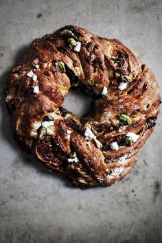Honey Fig Pistachio and Goat Cheese Loaf from Twigg Studios