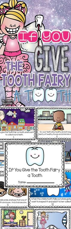 Tooth Fairy Literacy & Math Activities for Dental Health Month!