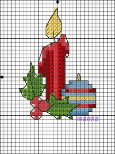 Snowman Cross Stitch Pattern, Xmas Cross Stitch, Cross Stitch Christmas Ornaments, Cross Stitch Cards, Cross Stitch Alphabet, Christmas Embroidery, Christmas Cross, Cross Stitching, Cross Stitch Embroidery