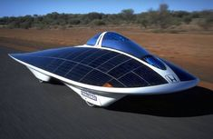 It's possible to have a solar powered vehicle (for a lot of money!!)