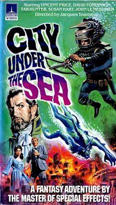 "City Under the Sea (1965) aka ""War Gods of the Deep"" on VHS"