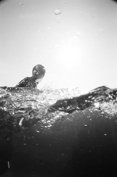 under and over the water | photography black & white . Schwarz-Weiß-Fotografie . photographie noir et blanc | @ Yours truly, |