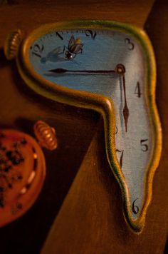 "Art Details "" Close-up Photo of Salvador Dali's painting 'The Persistence of Memory"" by Jimmy Baikovicius"" Salvador Dali Tattoo, Salvador Dali Kunst, Salvador Dali Paintings, Salvador Dali Quotes, Dali Time, Art Espagnole, Art Du Monde, Bijoux Art Deco, Surreal Art"