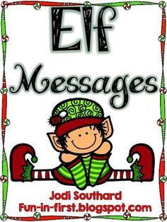 Elf Messages {A Freebie}