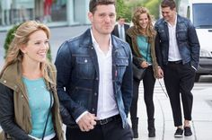 Michael Buble holds hands with stunning wife Luisana Lopilato in Spain as he makes questionable fashion statement - Mirror Online