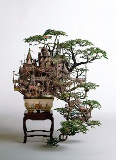 Bonsai Art created by Takanori Aiba