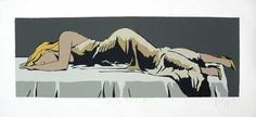 """""""After the Ball"""" by Dick Frizzell. Edition of 100. 2012. 705 x 156 cm. Available to purchase, check it out at www.smythgalleries.co.nz"""
