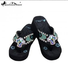 187033356151a Montana West Turquoise Chevron Cross Straps   Rhinestone Cross Sandal Flip  Flops - The Rustic Shop