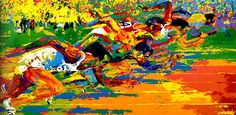 Leroy Neiman Olympic Track painting, oil on canvas & frame; Leroy Neiman Olympic Track is shipped worldwide, 60 days money back guarantee. Olympic Track And Field, Track Field, Sports Painting, Leroy Neiman, Cultural Events, Traditional Paintings, Sports Art, Sports Images, Before Us