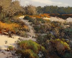 Trail From Spyglass by Brian Blood Oil ~ 24 x 30
