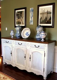 Diy Desk Repurpose Buffet Upcycle Sideboard Dining Room