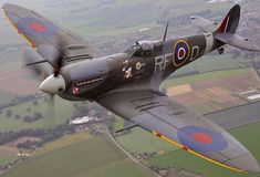British Warplanes WW2 | The British Spitfire is practically perfect in every way. With the ...