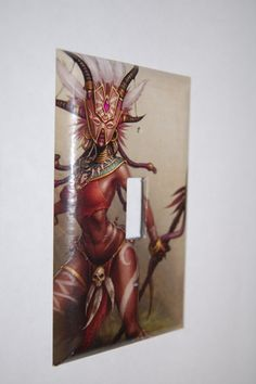 Diablo 3 Witch Doctor Light Switch Plate by Hippiemysticstudio, $5.50