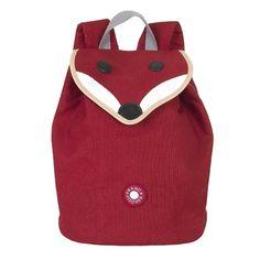 Franck & Fischer Rugzak Vos Love this! Red Backpack, Leather Backpack, Franck Fischer, Nursery Bag, Elodie Details, Little Fashion, Designer Backpacks, Quilted Bag, Girls Bags