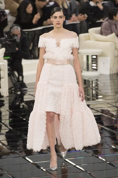 Défilé Chanel Printemps-été 2017 Haute couture | Le Figaro Madame