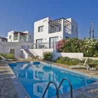 Meltemi Villas This property has agreed to be part of our Preferred Property programme which groups together properties that stand out thanks to their excellent service and quality/price ratio with competitive prices. Participation in the programme requires meeting a specific set of criteria and takes into account feedback from previous guests. Chloraka,Paphos City (3.6 miles from Amphora Hotel & Suites) Just 300 metres from Chloraka Beach in Paphos, Meltemi offers elegantly decor