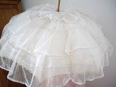 antique ruffled parasol by skblanks, via Flickr