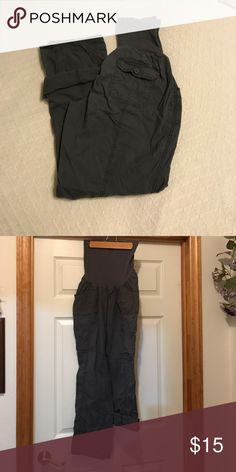 """Oh Baby"" by Motherhood maternity pants ""Oh Baby"" by Motherhood maternity pants. Can be worn as pants or rolled up to above ankles. Only worn a handful of times. Oh Baby by Motherhood Pants Ankle & Cropped"