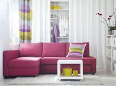 El rosa es un color muy relajado. Provee una sensación de  suavidad en tu hogar.