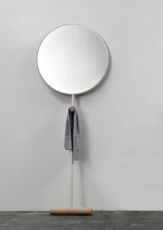Giulietta. Simple and Beauty.; mirror, floor stand mirror, Luis Arrivillaga