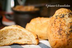 """Me gustan los panes que dentro tienen """"trocitos"""" de algún que otro ingrediente, en los puestos de panes artesanos de las ferias se encu..."""