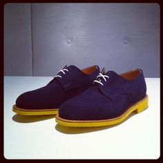 Diggin' these Mark McNairy suede brogues.  #menswear #fashion #shoes  {@mmcnairy via @mrporterlive}
