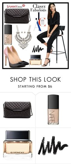 """""""Classy and fabulous!"""" by b-necka ❤ liked on Polyvore featuring NARS Cosmetics and Givenchy"""