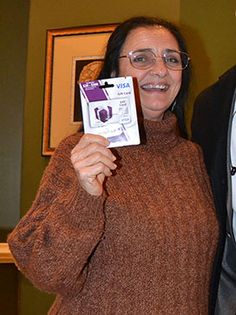 Congratulations to Leilani Davis. She is our Inn Club Winner for January. Her prize, a $250 gift card to spend as she pleases. Thank you for staying with us Leilani. Enjoy!