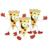 Bendable Pizza Guy (Pack of 12)
