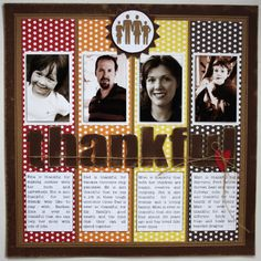 Thanksgiving scrapbook projects : Core'dinations ColorCore Cardstock® | Scrapbook Cardstock Paper, Projects, Tips, Techniques and More!