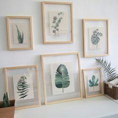 Love these frames - Love these frames - .- Lieben Sie diese Rahmen – Lieben Sie diese Rahmen – Love this frame – love this frame – - Diy Wall Decor, Home Decor Wall Art, Bedroom Decor, Nature Home Decor, Nature Nature, Decor Room, Room Art, Tropical Style Decor, Pinterest Home