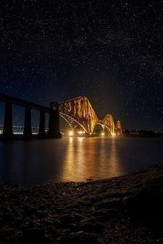 Forth Bridge Starscape, South Queensferry, Scotland