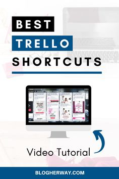 Check out this video tutorial on how to use Trello shortcuts for improved work productivity. Trello is a great online work productivity tool that you can use to help manage your blog and business. Click to learn more. #trello #blogtips #workproductivity Effective Time Management, Time Management Strategies, Management Tips, Business Advice, Online Business, Work Productivity, How To Stop Procrastinating, Blogger Tips, Online Work