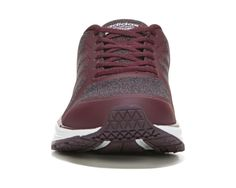 adidas Neo Cloudfoam Flyer Ultra Footbed Running Shoe Burgandy White