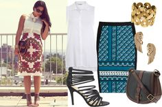 The Perfect Outfit: A Printed Skirt To Bust You Out Of A Style Rut