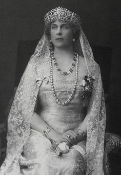 Queen Victoria Eugenie of Spain (1887-1969 -- a granddaughter of Queen Victoria
