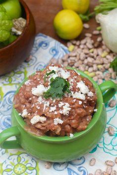 Crockpot Refried Beans