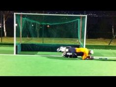 Just Hockey Skill Up - Andrew Butterini - Goal Keeping Basics 1 - YouTube