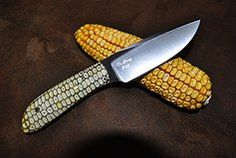 DeYong Knives specializing in knives made from files and rasps hand crafted by knife maker Clarence DeYong. Lifetime member of the Badger Knife Club. Corn Cob, Engraving Services, Cool Knives, Knife Making, Grid, Note, Canning, Cool Stuff, Gallery