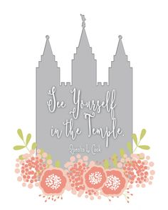 LDS See Yourself in the Temple 8x 10 digital by rPixPrints on Etsy